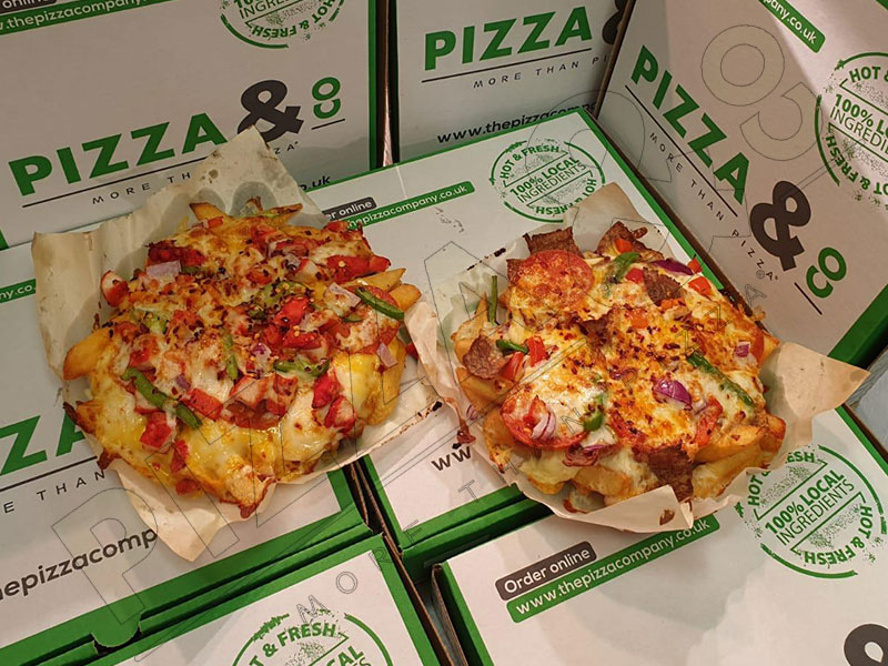 Products Pizza Co Thornaby